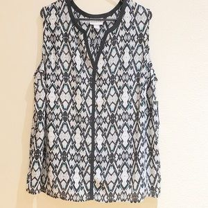 Pure Energy Tank Blouse NWT 3X